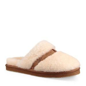 NIB UGG Dalla Close Toe Slide Sheepskin Slippers 8